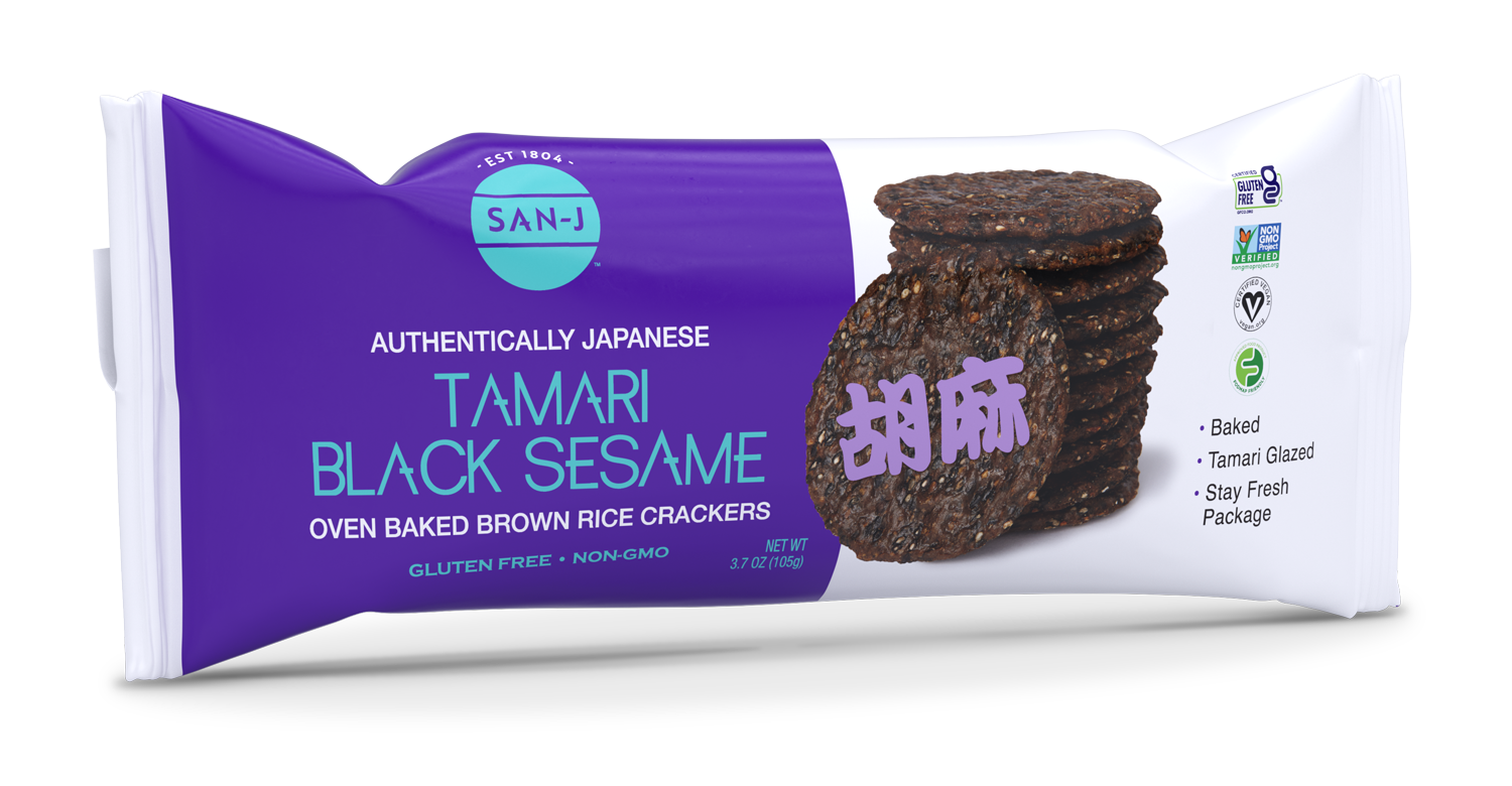San j tamari black sesame crackers 2021 no bg w shadow