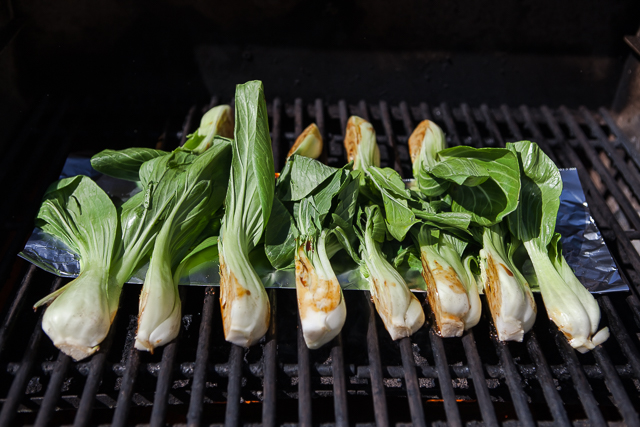 How to Perfectly Grill Baby Bok Choy