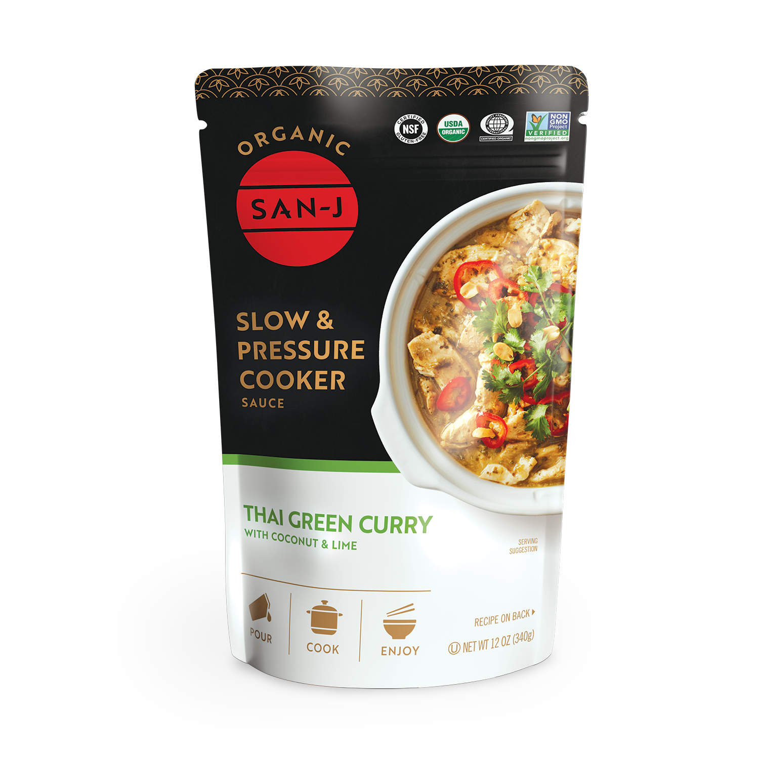 Slow cooker thai green curry 2021