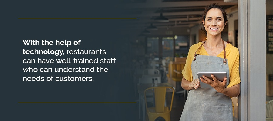 07 offer consistent training for staff