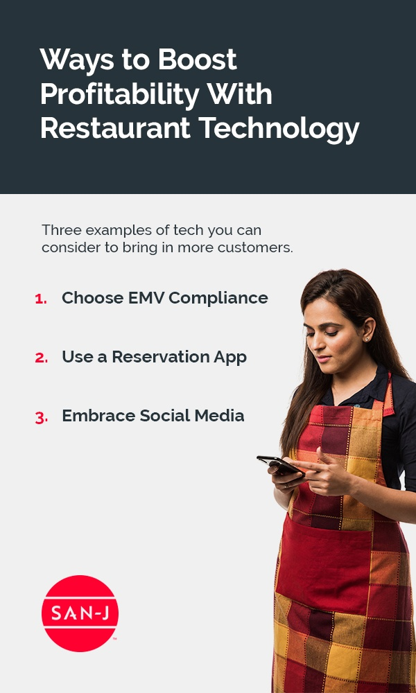 09 ways to boost profitability with restaurant technology pinterest